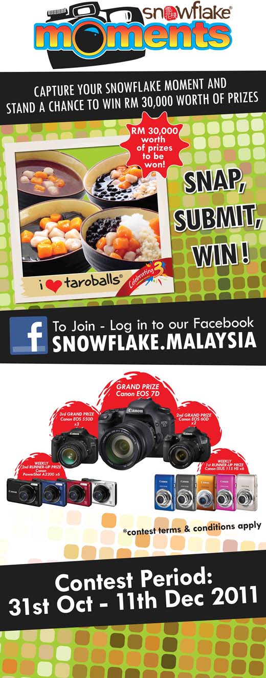Snowflake Moments Contest