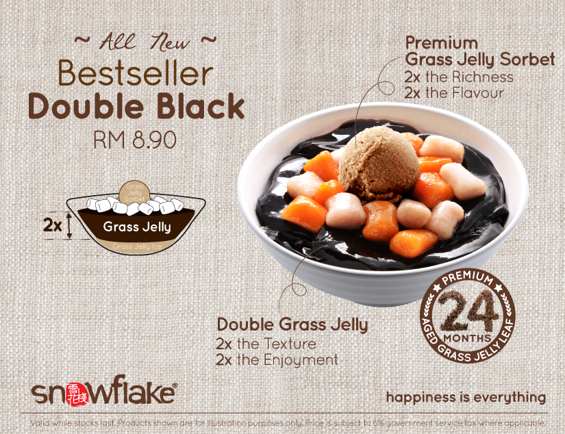 All New Bestseller Double Black